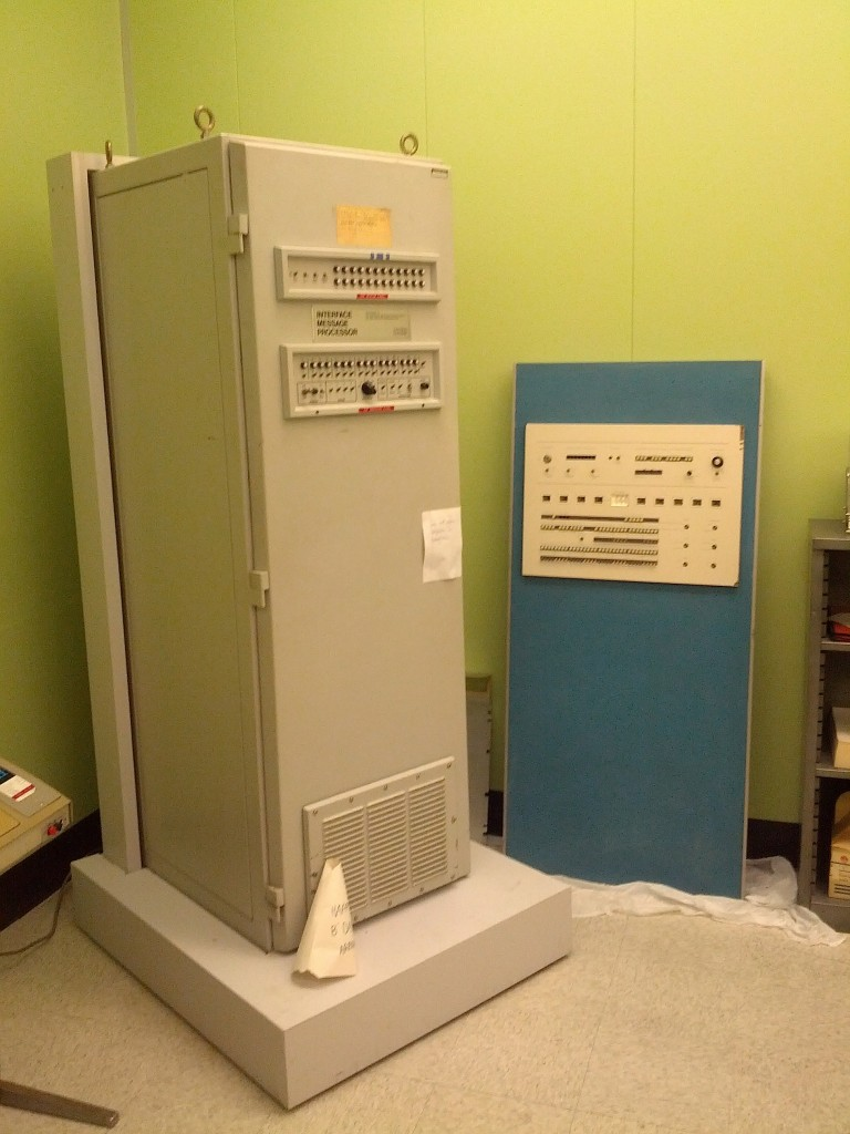 The Interface Message Processor cabinet.